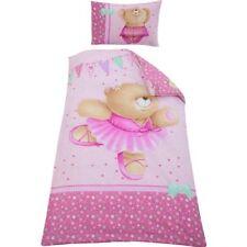 Forever Friends Ballerina Single Rotary Duvet Set & Pillowcase (135 x 200 cm)
