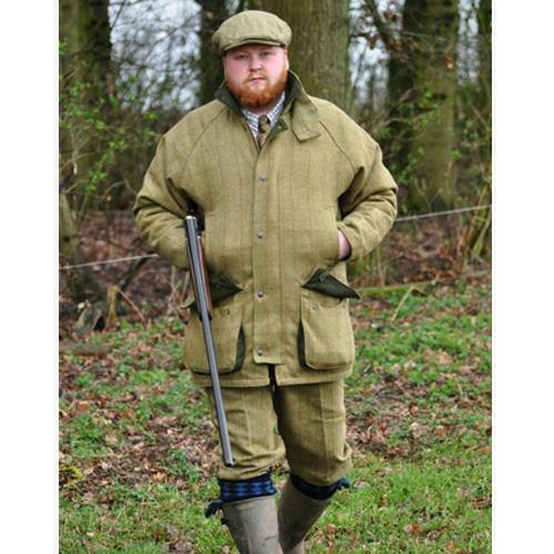 Mens Countryman Waterproof Tweed Jacket Coat