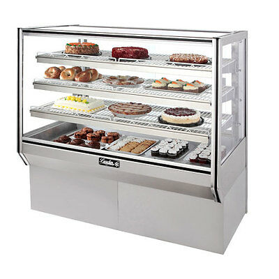 Leader 48 Commercial High Bakery Display Refrigerated Case Self Contained