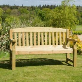 Zest Emily 3 Seater Bench 5ft Pressure Treated