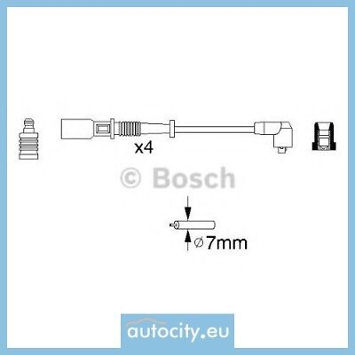Bosch 0 986 356 754 B754 Zundleitungssatz