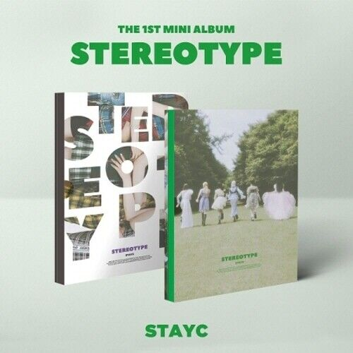 STAYC - [STEREOTYPE] 1st Mini Album CD+Poster+Photobook+Photocard+Postcard+Etc