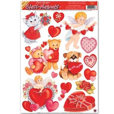 Valentine Window Clings Valentines Day Decorations and Supplies (Valentines Supplies)