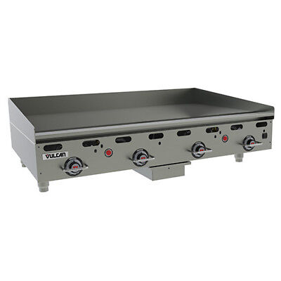 Vulcan Msa48 Commercial Natural Gas Heavy Duty Griddle - 48