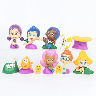 Bubble Guppies Molly (BUBBLE GUPPIES 12 Figure Set PVC TOY Cake Topper GIL Molly NONNY Deema OONA)