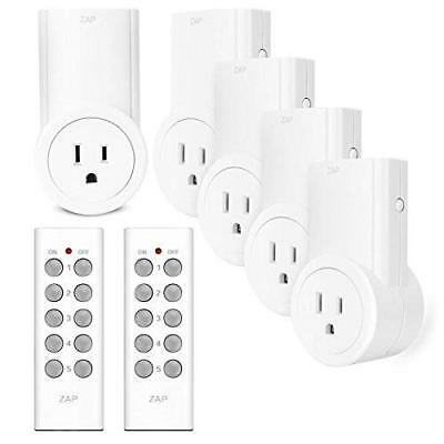 Etekcity Remote Control Outlet Kit Wireless Light Switch for Household