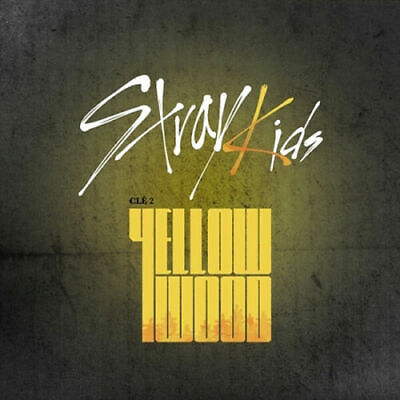 STRAY KIDS CLE 2:YELLOW WOOD Album NORMAL WOOD CD+POSTER+PBook+Card+PreOrder+etc
