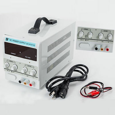 Digital Dc Power Supply 30v 10a 5a Precision Variable Adjustable Lab Grade By