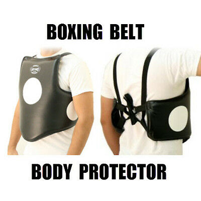 fighting boxing BODY PROTECTOR martial arts training protective equipment armour
