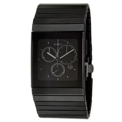 Rado Ceramica Chronograph Men's Quartz Watch R21715152. 100% AUTHENTIC - NEW!