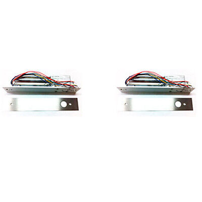 2 High Quality Electric Deadbolts Lock Keyless DeadBolt 1500 lbs HF Model 200SLD