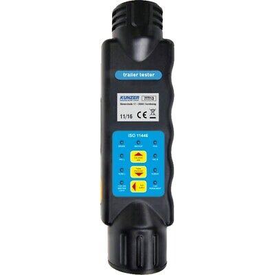 Handprüfgerät zum Testen von 13-poligen Steckern u. Steckdosen 12 V Kunzer 7TT13