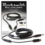 Rocksmith Real Tone USB Audio Cable [Ubisoft] for PS3, PS4, Xbox One 360, PC