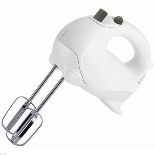 Hand Held Electric Mixer ~ Speed hand held food mixer electric whisk blender beater