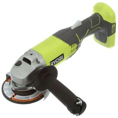 Ryobi 18 Volt 4 1 2 Handy Cordless Angle Grinder Portable Electric Power Tool