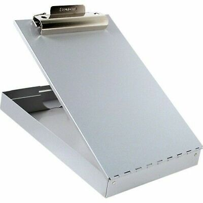 Saunders Aluminum Clipboard With Storage 8 12 X 12