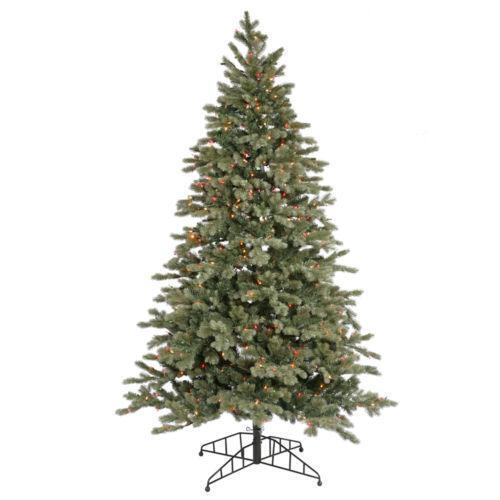 White Pre Lit Pencil Christmas Tree
