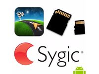 Official Sygic Offline European Android in sd card ALL WORLD MAPS