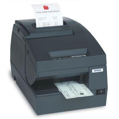 Epson Tm-h6000ii Wmicr Endorser Receipt Printer Usb With Power Supply