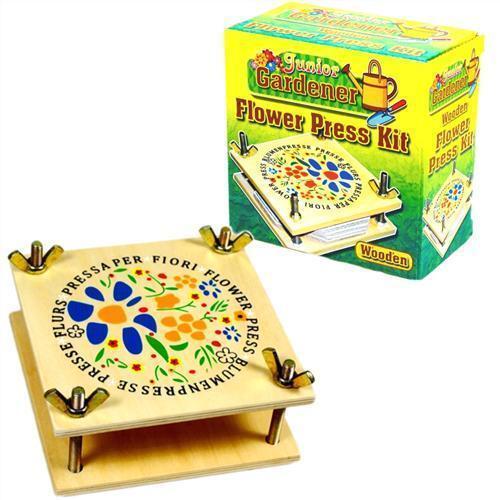 Junior Gardener Wooden Flower Press Kit Childrens Kids Craft Set  351-096