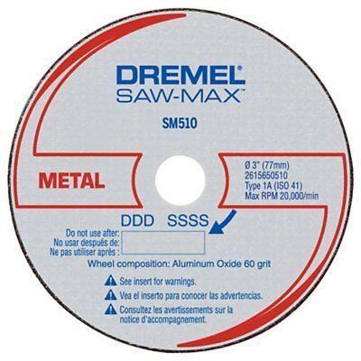 Dremel Saw-max 3 Metal Cut-off Wheel 3 Pack Sm510c