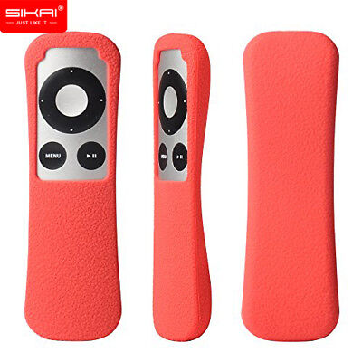 SIKAI Dustproof Shockproof Silicone case Skin for Apple TV 2 3 Gen Remote Cover