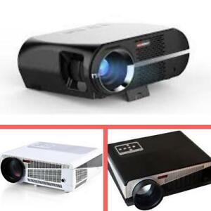 Weekly Promo! HOME THEATER LED  PROJECTOR  FULL HD, starting from $259!