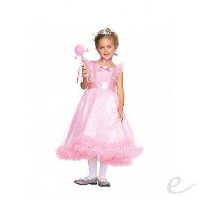 PETAL PINK PRINCESS FAIRYTALE PRINCESS PEACH COSTUME AGE 4-6 LEG AVENUE BOOK DAY (Princess Peach Child Costume)