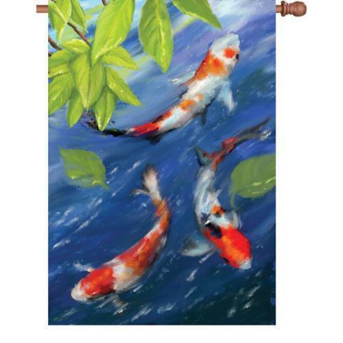 Koi flag ebay for Japanese flag koi