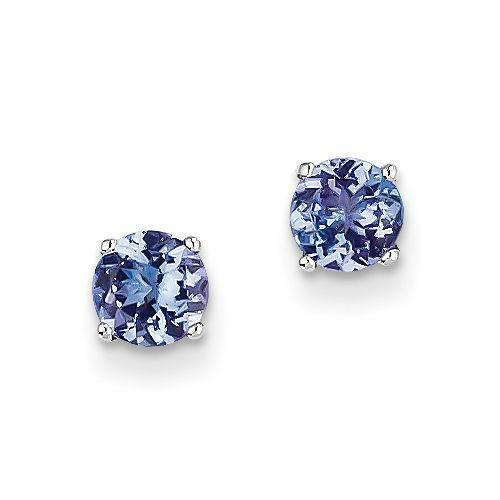 Tanzanite Buying Tanzanite: Tanzanite Earrings 14k