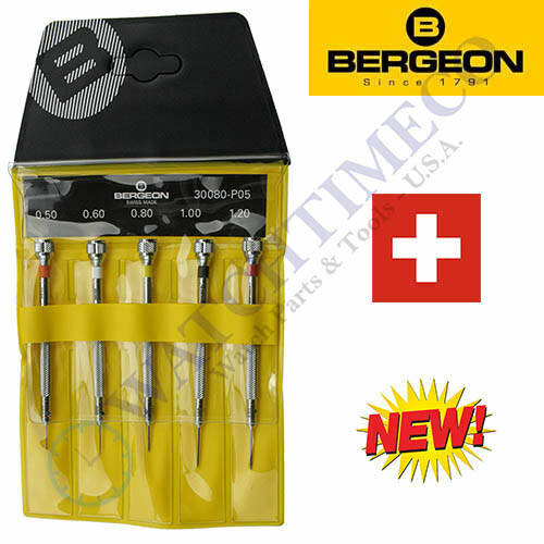 Bergeon 30080-P05 (Replaces # 2868) Set of 5 Watchmaker