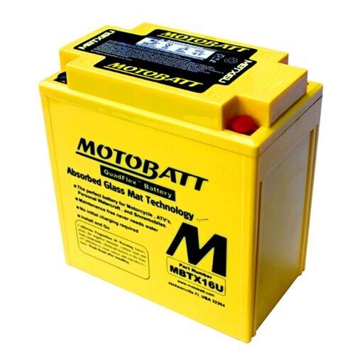 Motobatt high performance battery Suzuki VS1400 Intruder 1987-1999