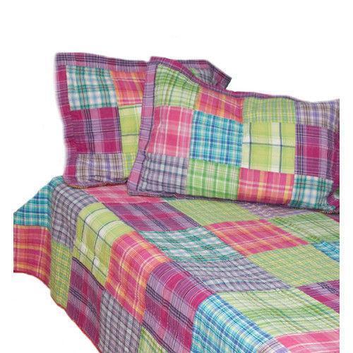 Madras Quilted Bedding Ebay