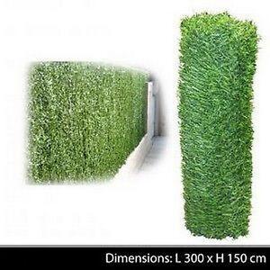 haie vegetale jardin cloture brise vue grillage herbe artificielle decoration 99 ebay. Black Bedroom Furniture Sets. Home Design Ideas