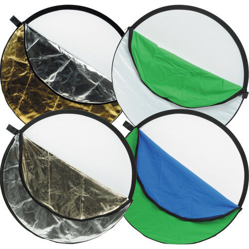 Impact 7-in-1 Collapsible Reflector Disc (42/106.7 cm Diameter)