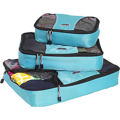eBags Packing Cubes - 3pc Set - Aquamarine on Rummage