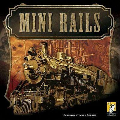 Mini Rails Board Game - Brand New & covid 19 (Rails Board Game coronavirus)