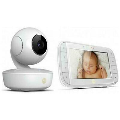 "Motorola MBP50 Baby Video Monitor 5"" Display 23 Channels With 2 Way Talk"