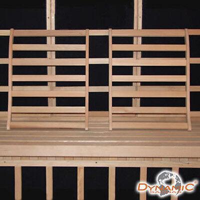 Dynamic Canadian Hemlock Sauna Backrest 2-pack 100% Natural Hemlock Wood