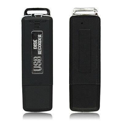 8GB USB Disk Pen Flash Drive Digital Audio Voice Recorder 150 hrs Recording
