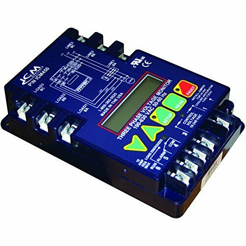 ICM Controls ICM450 Digital Three Phase Line Voltage Monitor ICM-450, ICM450C