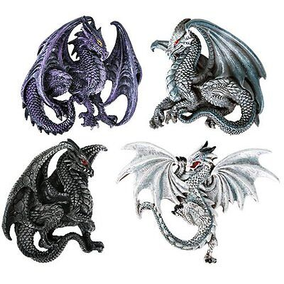Dragon's Lair Ruth Thompson Set of 4 Collectible Refrigerator Magnets Gift Decor