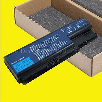 Battery For Acer Aspire As07b42 5320 6935 As07b51 5720z