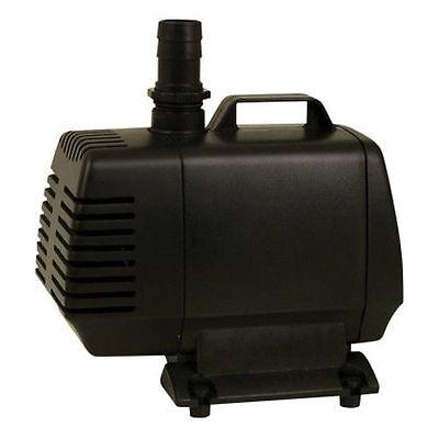 Tetrapond Water Garden Pump 1000 Gph Koi Pond Pump