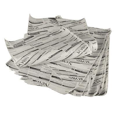 """1 kg Einschlagpapiere, Pergament-Ersatz 35 cm x 25 cm """"Newsprint"""" fettdicht"""