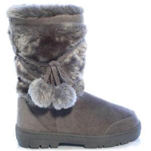Grey Ella Boots