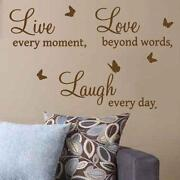 Wall Stickers Quotes Bedroom
