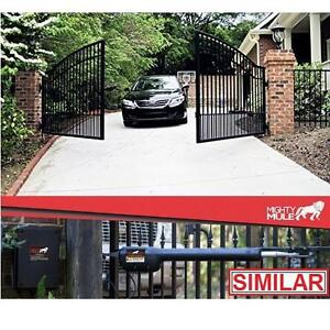 NEW* MIGHTY MULE GATE OPENER KIT DUAL UP TO 18' OR 850 LBS - COLD WEATHER AUTOMATIC REMOTE OPENERS GATES SECURITY