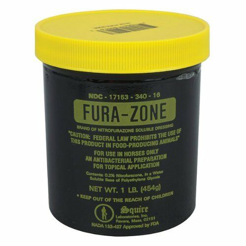 Fura-Zone Ointment For Horses (1 lb)