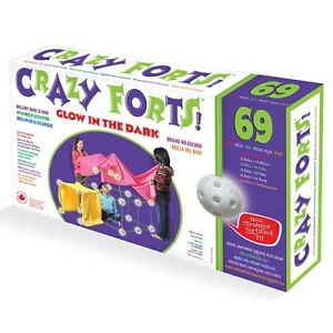 Brand new Crazy Forts Glow-in-the-dark Building Set